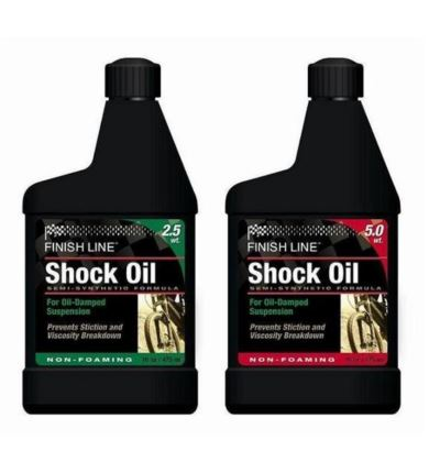 Olej do amortyzatora FINISH LINE Shock Oil 470ml