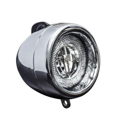 Lampa przednia Trek Spanninga RETRO LED Chrom