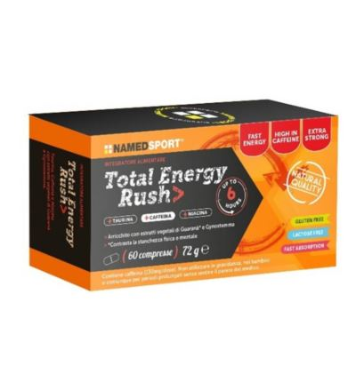 Tabletki NAMED Total Energy Rush 60szt.
